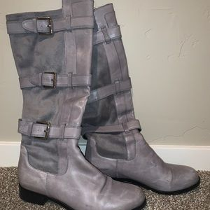 Grey Cole Haan tall boots